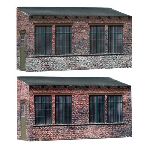 Hinterhof Vorbauten 2 Modelle Halbreliefgebaude Fur Alle